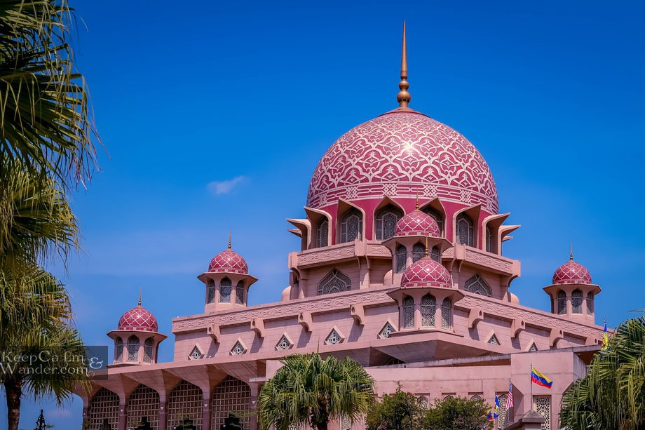 Inside the Pink Mosque in Putrajaya - Half-Day Trip from Kuala Lumpur