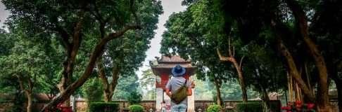 Temple of Literature Hanoi Vietnam 2