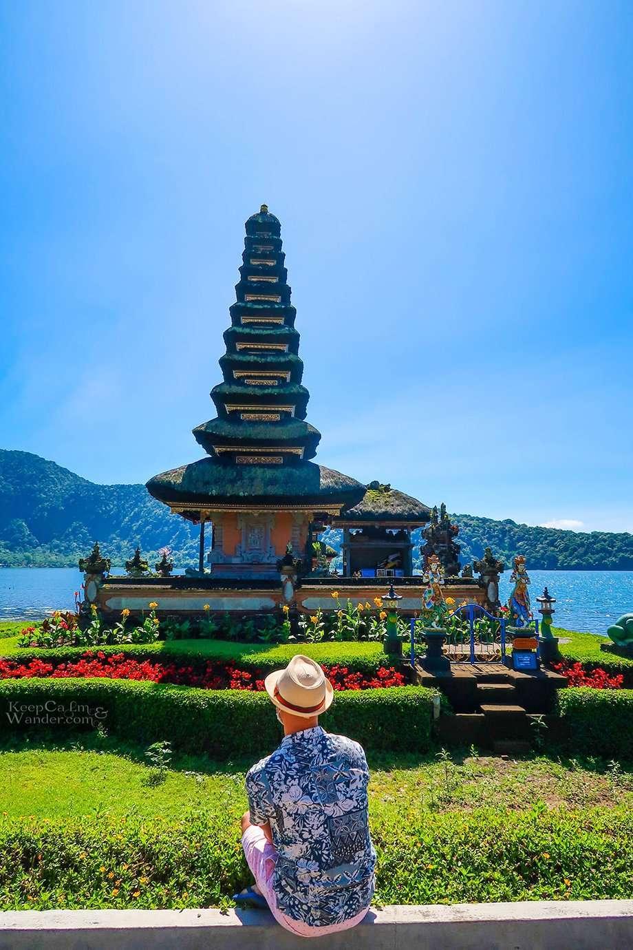 Pura Ulun Danu Beratan Temple in Bedugul (Bali)