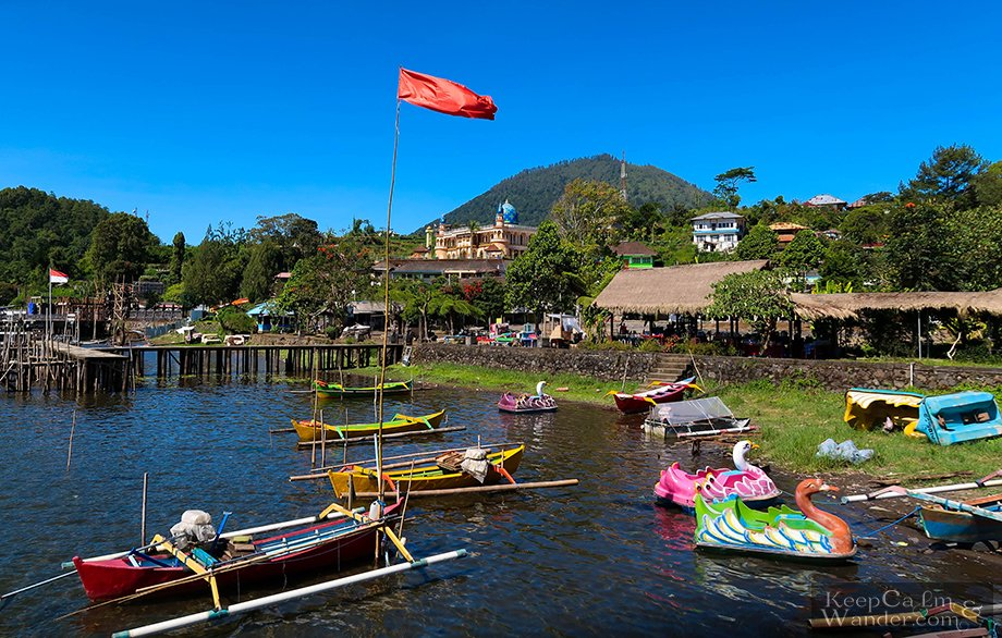 Tourist attractions in Bali.