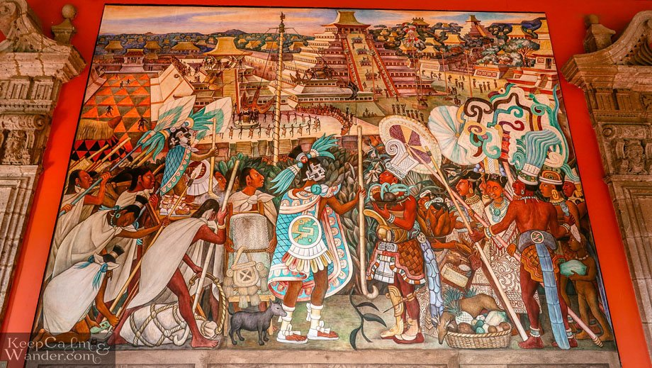 Festival and Ceremonies by Diego Rivera National Palace Mexico City