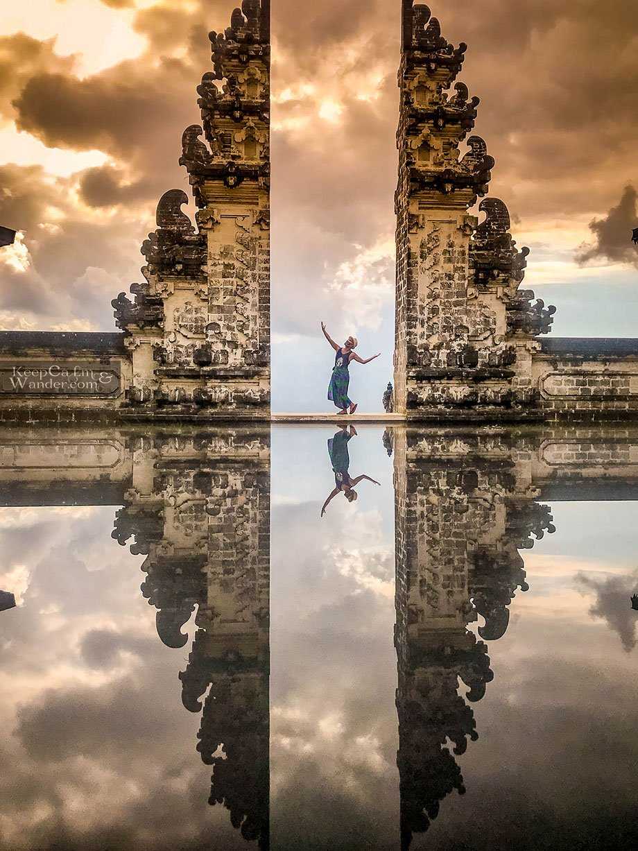 Gate of Heaven Temple Bali