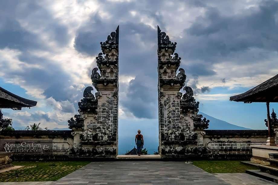 Temple Gate of Heaven Pura Lempuyang Bali