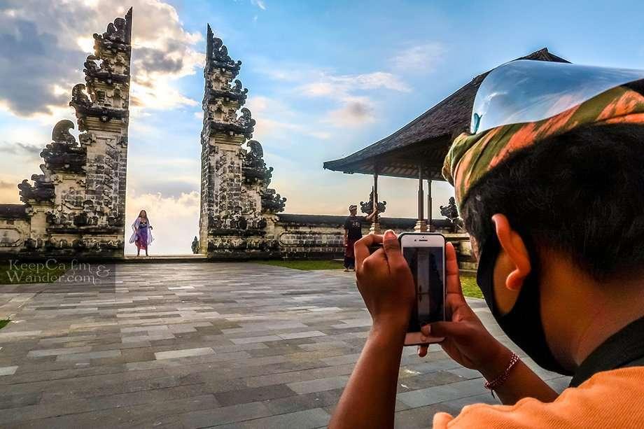 Gate of Heaven Mt Agung