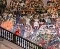 Mural History of Mexico Palacio Nacional Staircase 1