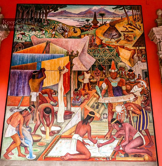 Painters and Dyers by Diego Rivera