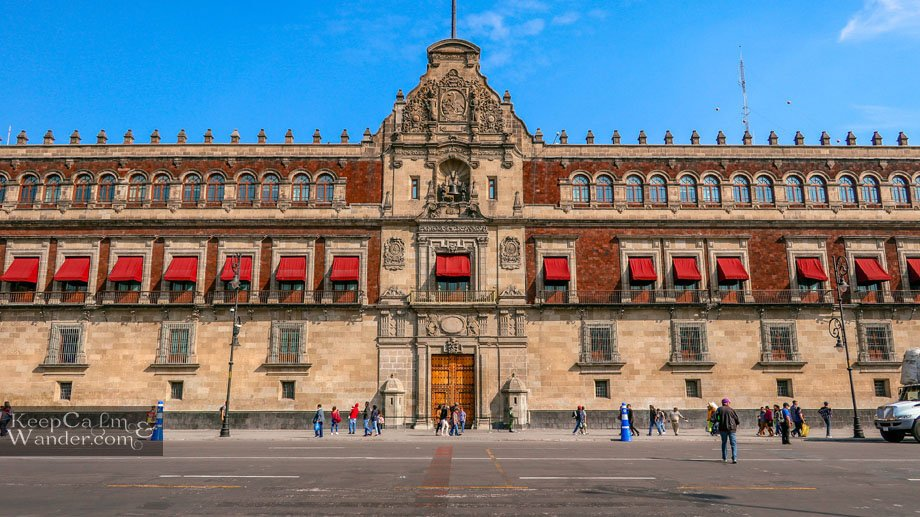 Inside the Palacio Nacional - The Mural and Paintings of Deigo Rivera