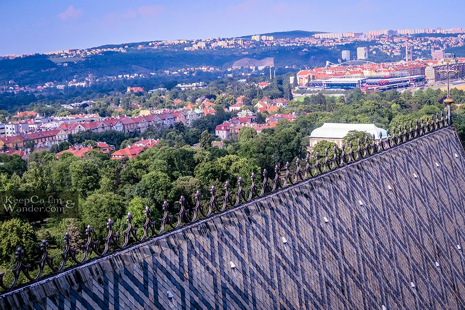 Views from Prague Castle Tower