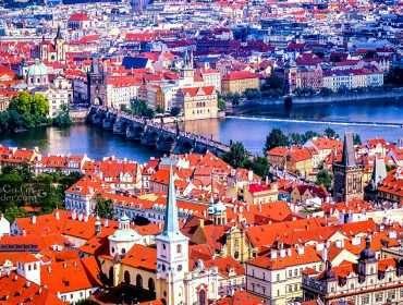 Prague Castle Tower Views 3