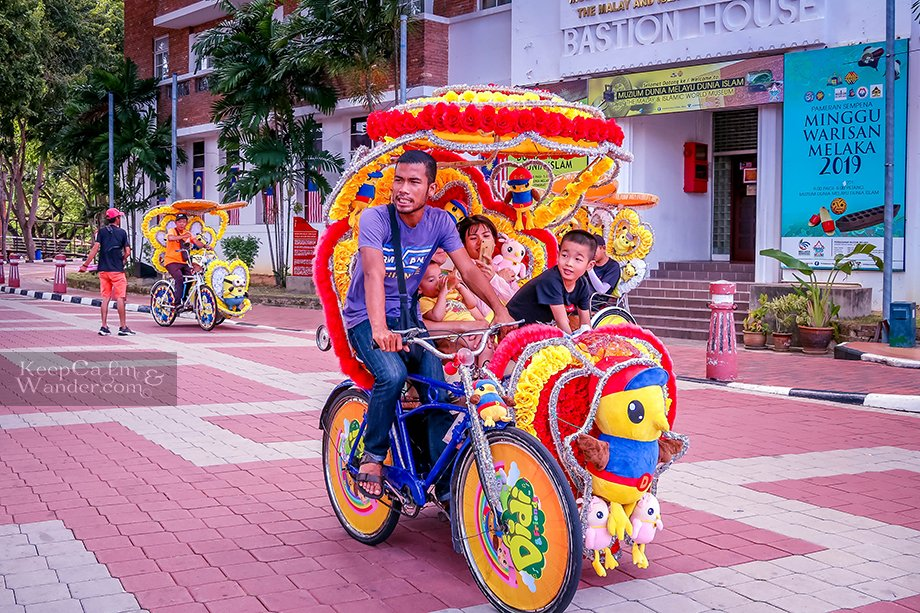 Sightseeing in Malacca
