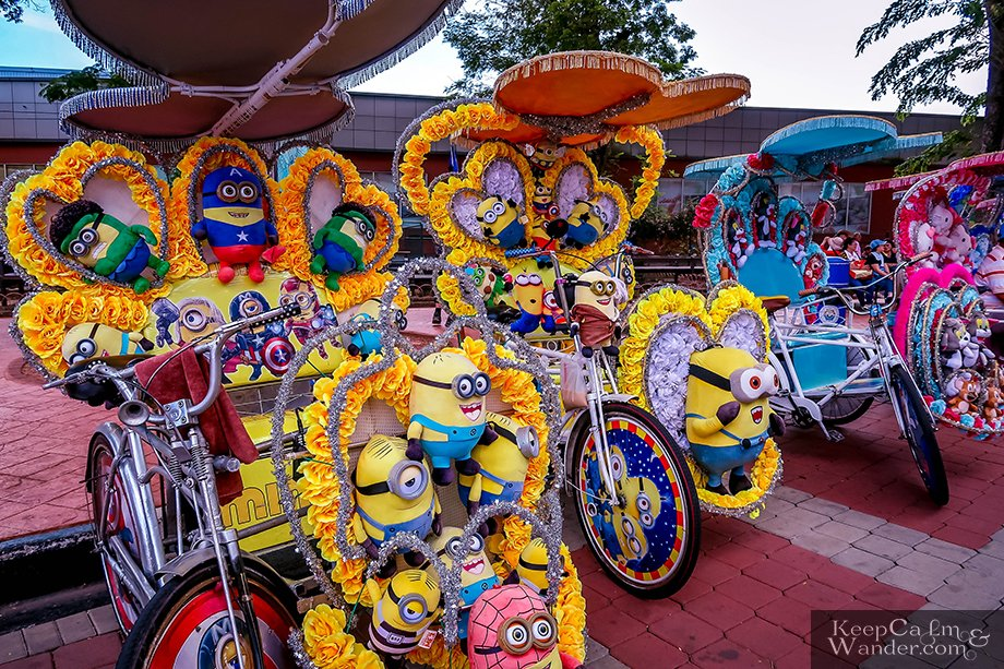 These Rickshaws in Melaka Are Beautifully Decorated