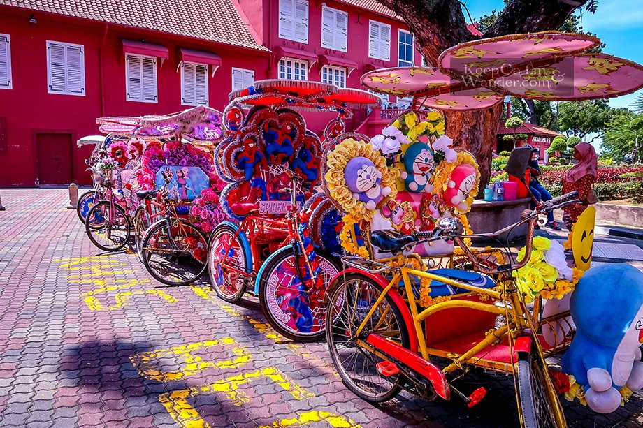 Tourist attractions in Malacca