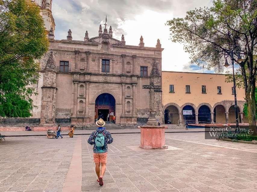 Things to do in Mexico City San Juan Bautista Church