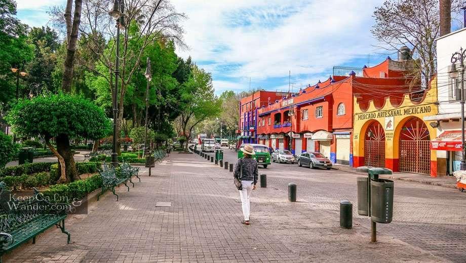 Coyoacan - A Morning Stroll Mexico City