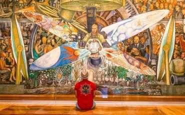 Diego Rivera Mural Bella Las Artes 1