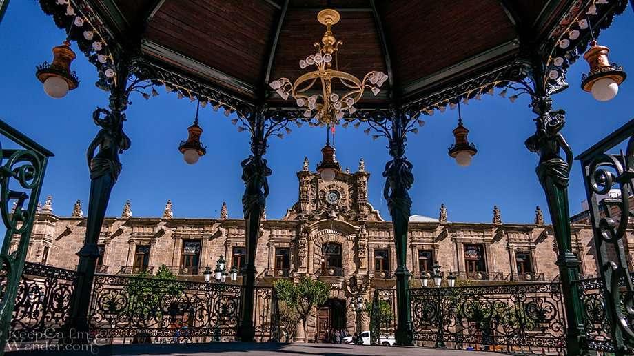 Inside Palacio Nacional del Gobierno in Guadalajara