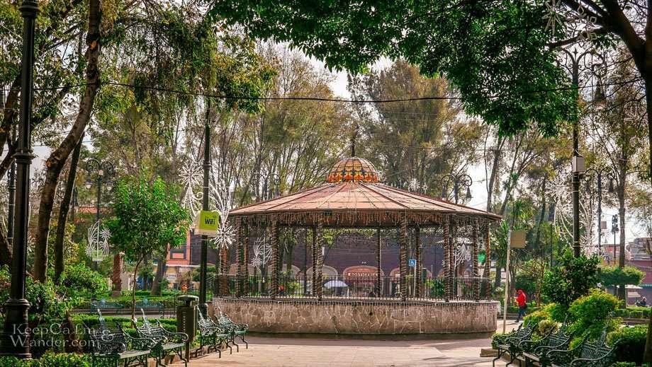 Plaza Hidalgo Kiosk