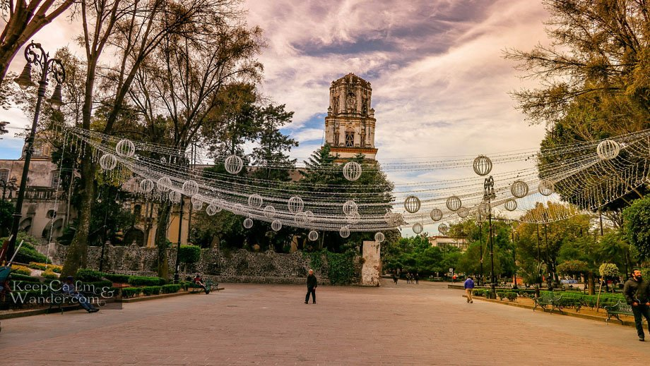 Coyoacan - A Morning Stroll (Mexico City).