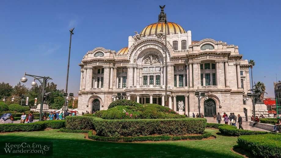 Palacio de Bella Artes - Where You Find the Grandest Arts in Mexico City