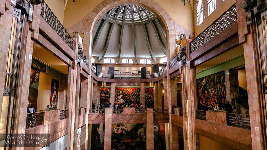 Palacio de Bella Artes - Where You Find the Grandest Arts in Mexico City