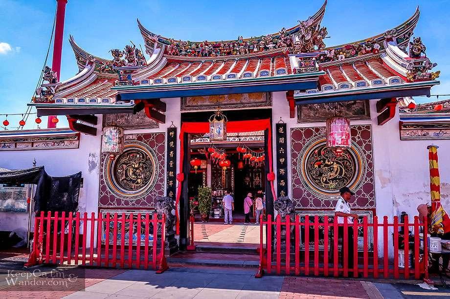 Walking Tour Melaka Things to do Cheng Hoon Teng Temple Melacca