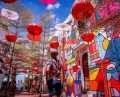 21 Walking Tour Melaka Things to do Umbrella Grafitti Malacca