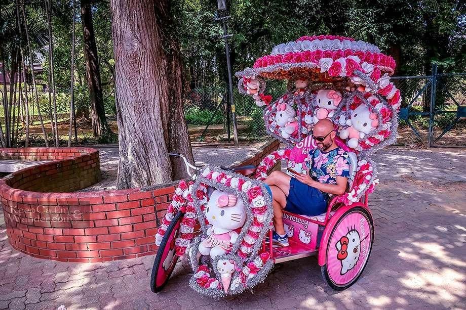 Melaka Rickshaws Malaysia Kuala Lumpur