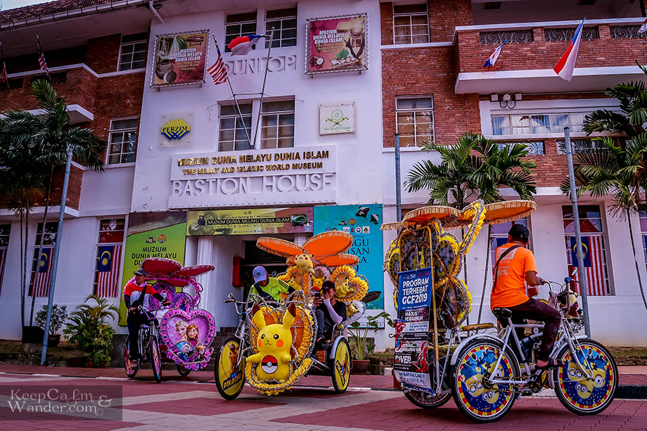 Bastion House Walking Tour Malacca